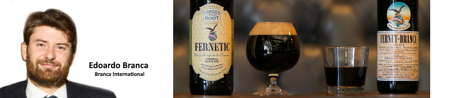 Italy/USA: Fernet-Branca now also served as a beer - Inside Getränke
